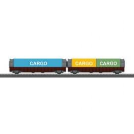 Uitloop-Containerwagen-Set