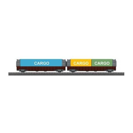 Containerwagen-Set
