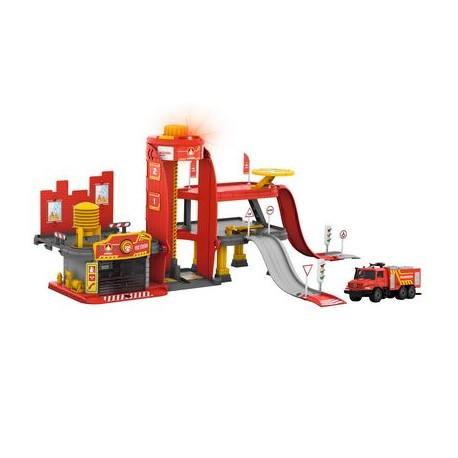 Brandweerkazerne met licht- en geluidsfuncties