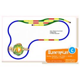 Banenplan 6