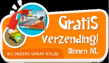 Gratis verzending binnen Nederland voor orders vanaf  € 75,00